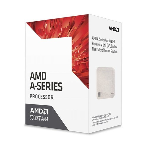 Процессор AMD A6-9500 (Dual-Core) 3500MHz (AD9500AGABBOX (12*)), AM4, L2: 1Mb, Bristol Ridge, 65W, GPU: AMD Radeon R5 Series, Box