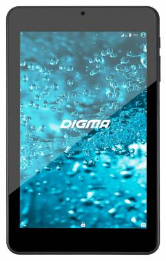 "Планшет Digma Optima 7301 (TS7057AW), 7.0"" IPS (1280x800), Allwinner A33 Quad-Core (1.2GHz), RAM: 1Gb, Flash: 8Gb, Video: Mali-400 MP2, microSDHC, Wi-Fi, Camera 0.3Mp, Android 5.1, 2500 mAh, Black"
