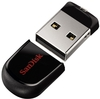 Флэш-память SanDisk (SDCZ33-016G-G35), 16 Gb, Cruzer Fit, USB 2.0, Black