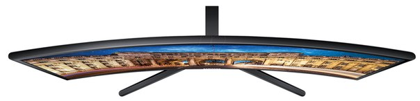 "Монитор TFT 24"" LED Samsung C24F396FHI (C24F396FHI (12*)), wide, VA, Full HD, 4ms, контр. 3000:1, яр. 250 кд/м2, D-Sub, HDMI, Black"