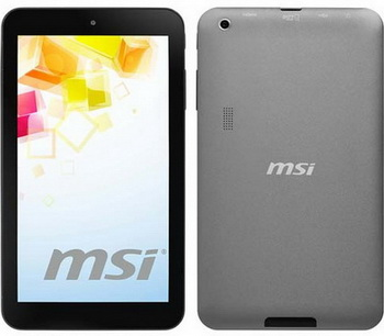 "Планшет MSI Primo 73 16GB (73-020UA), 7.0"" LCD (1024x600),CPU: Allwinner A20 Dual-Core (1.0GHz), RAM: 1Gb, Flash: 16Gb, Wi-Fi, Camera 2MP/0.3MP, Android 4.2, 0.3kg, Grey"