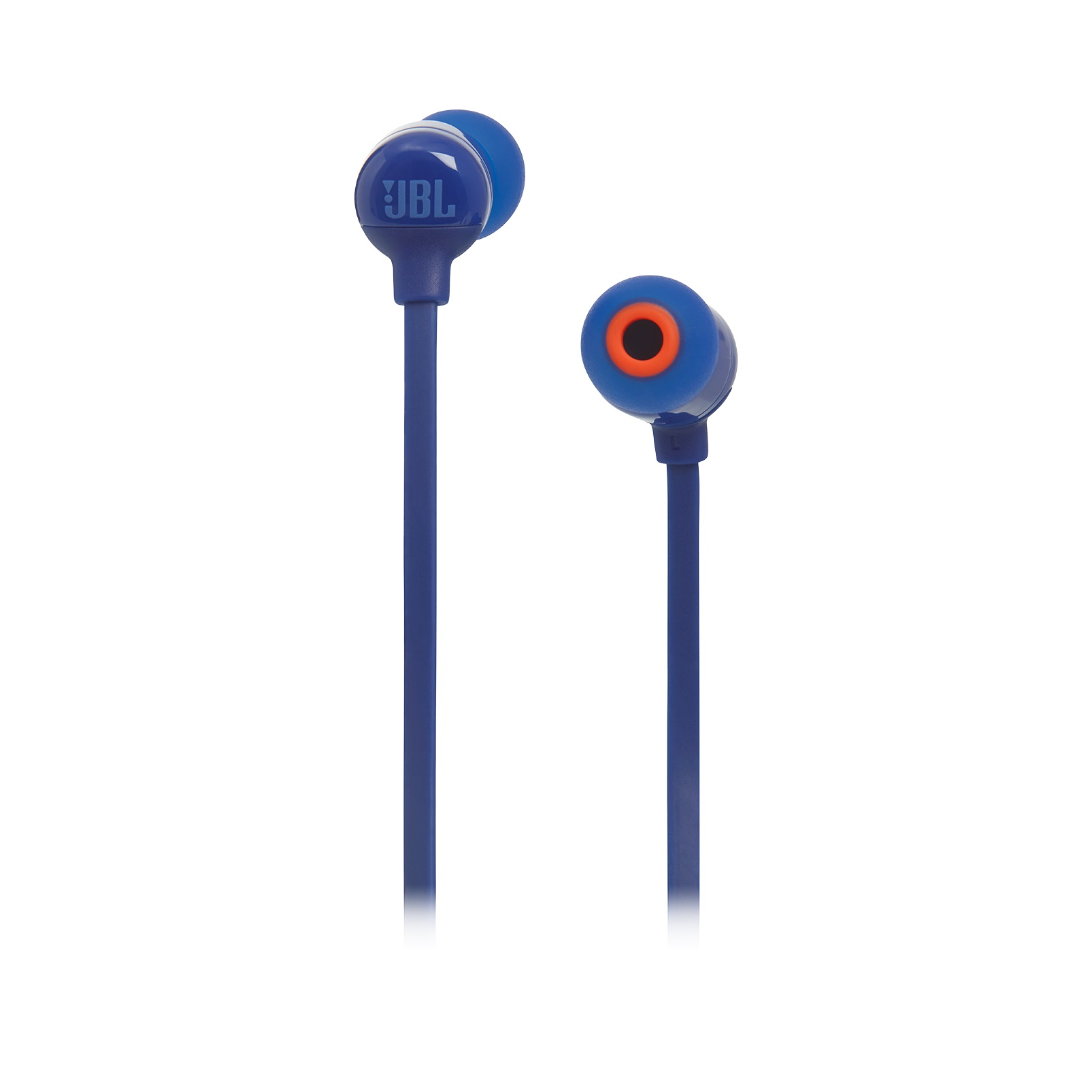 Наушники JBL T110 (JBLT110BLU), 3,5mm, 20-20000 Hz, 16 Om, 200 dB, 1.1m, Blue